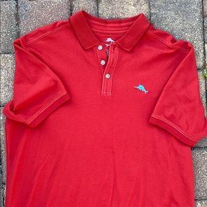 Sz M Tommy Bahama Supima cotton polo shirt